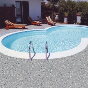 Poolfolie achtformbecken - My perfect pool ...