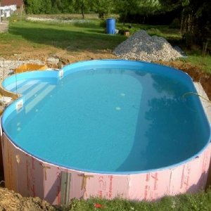 Wandisolierung ovalbecken 120 cm 486 x 250 x 120 cm - My perfect pool ...