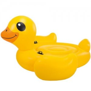 Badetier Yellow Duck Ride On